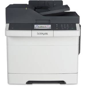 Lexmark International, Inc - Lexmark Cx410de Laser Multifunction Printer - Color - Plain Paper Print - Desktop - Copier/Fax/Printer/Scanner - 32 Ppm Mono/32 Ppm Color Print - 2400 X 600 Dpi Print - 32 Cpm Mono/32 Cpm Color Copy - Touchscreen - 1200 Dpi Optical Scan - Automatic Duplex Print - 250