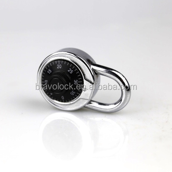 round dial password padlock 45mm