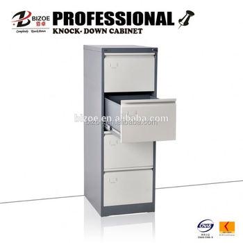 Knock Down Printed Cardboard Filing Cabinet