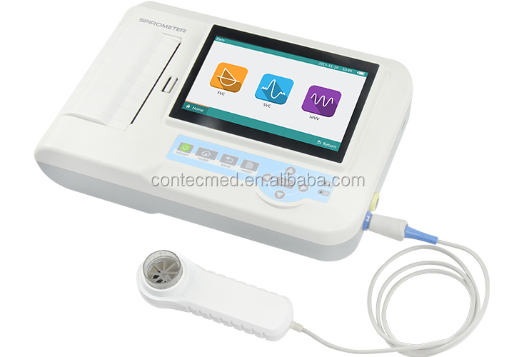 New CONTEC SP100 portable Spirometer lung function testing device