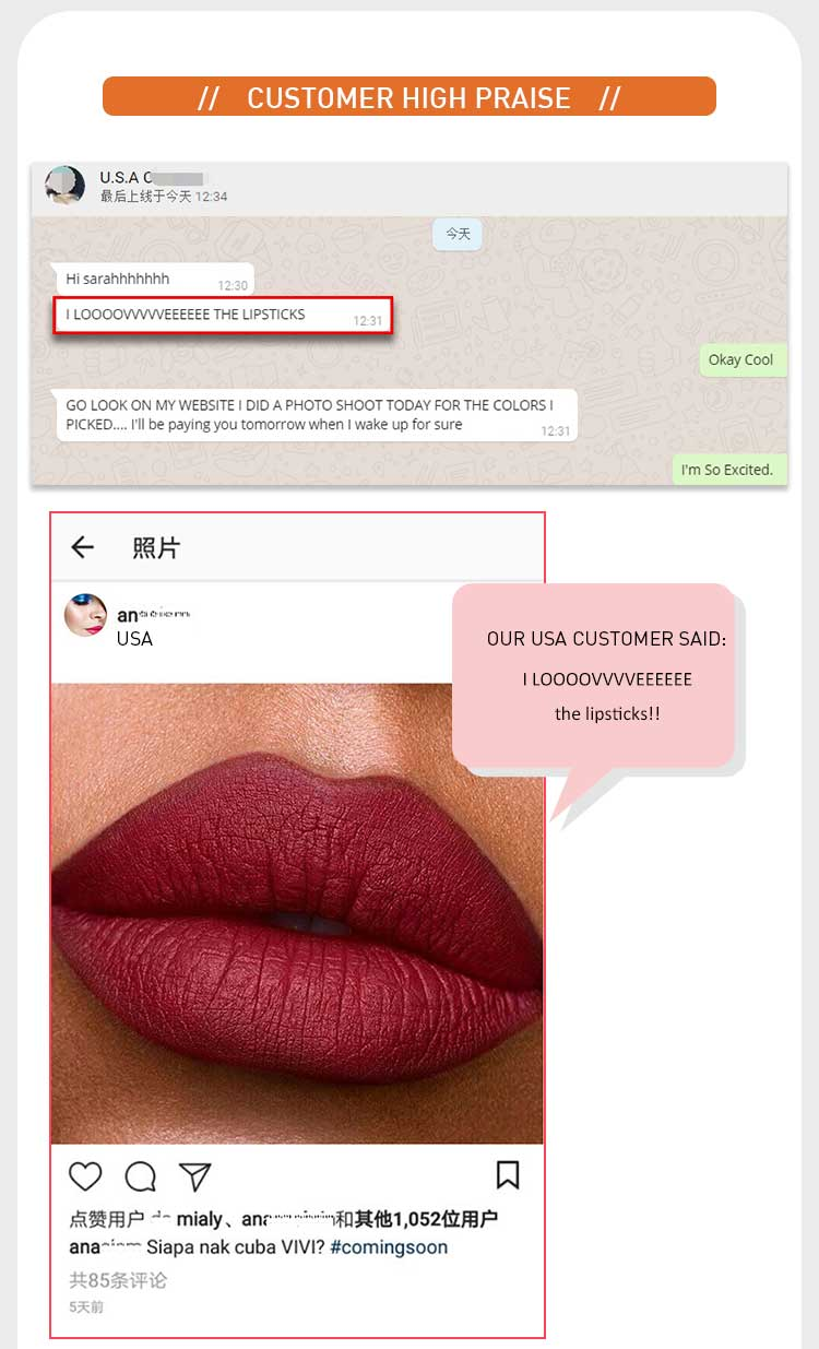 Wholesale Cheap High Quality lipgloss oem private label cosmetics lip gloss