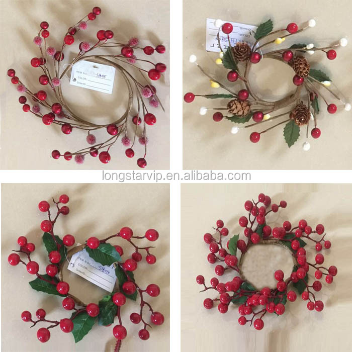 Christmas Candle Rings.Indoor Green Christmas Candle Rings Wreath With Snow And Real Pine Cone Bulk Buy Christmas Wreath With Candle Holder Bulk Christmas Wreaths Indoor