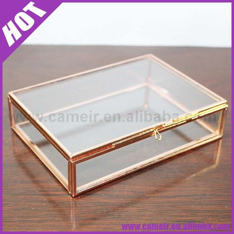 ::::@2016::::Art Deco / Covered Box /Perfect container for gift giving, candle making, Candy craft supply Tin Can Rectangle Box