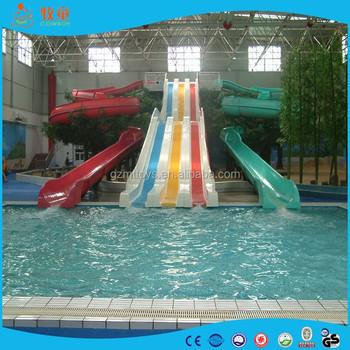 Indoor swimming pool water slide rainbow slide for sale - Used swimming pool slides for sale ...