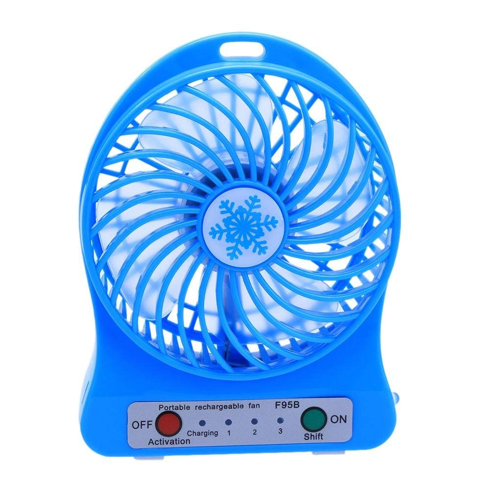 Air Conditioning Appliance Parts Flexible Gooseneck Real-time Temperature Led Flash Display Soft Blade Usb Fan Complete Range Of Articles
