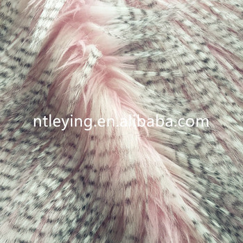 Hot sale high quality faux fur for women coat home textile