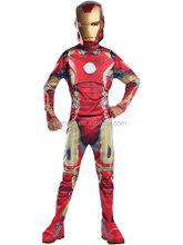 Marvel Iron Man Bambini Fancy Dress Ragazzi Costume del Supereroe Età 5-7 Medio Costume BC14219