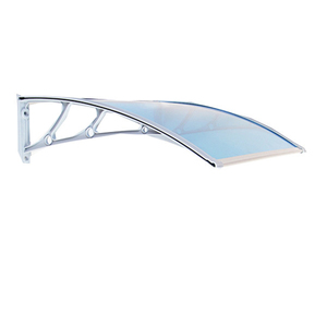 High quality easy to install canopy polycarbonate aluminum alloy awning transparent awning