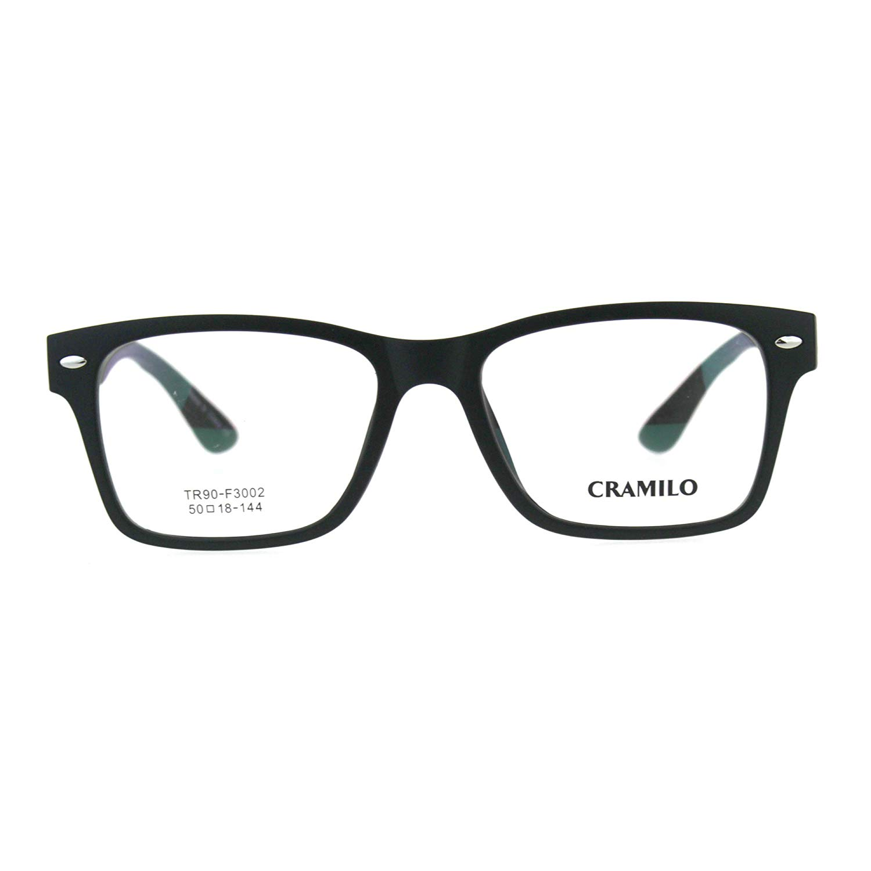738e40be12d8 Get Quotations · Premium Optical Quality Plastic Rectangular Horn Rim Eyeglasses  Frame