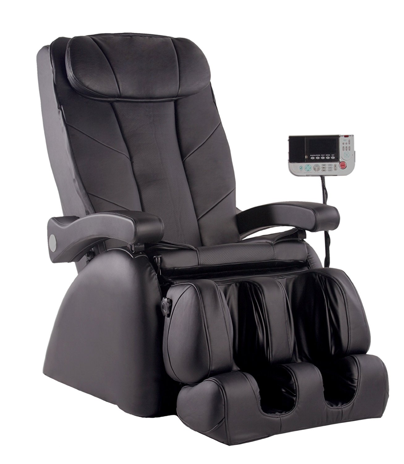 Omega MEBLK Model ME-1 Montage Elite Massage Chair, Black; 5 Automatic Programs including Relaxation, Activation, Vitality, Night, Morning; 4 levels of massage intensities (low, medium, high)