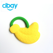Baby toys customized banana silicone fruit baby teether