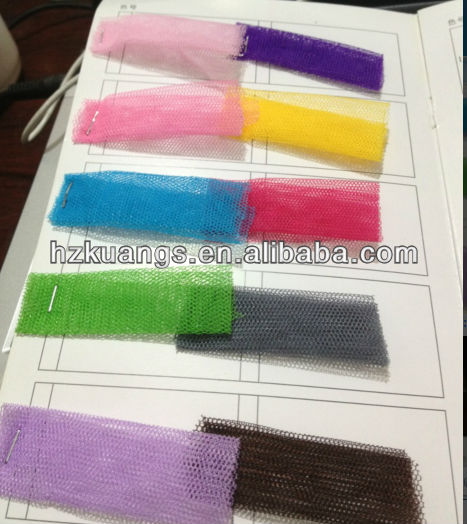 Wholesale Mosquito net fabric 50D polyester plain dyed fabric