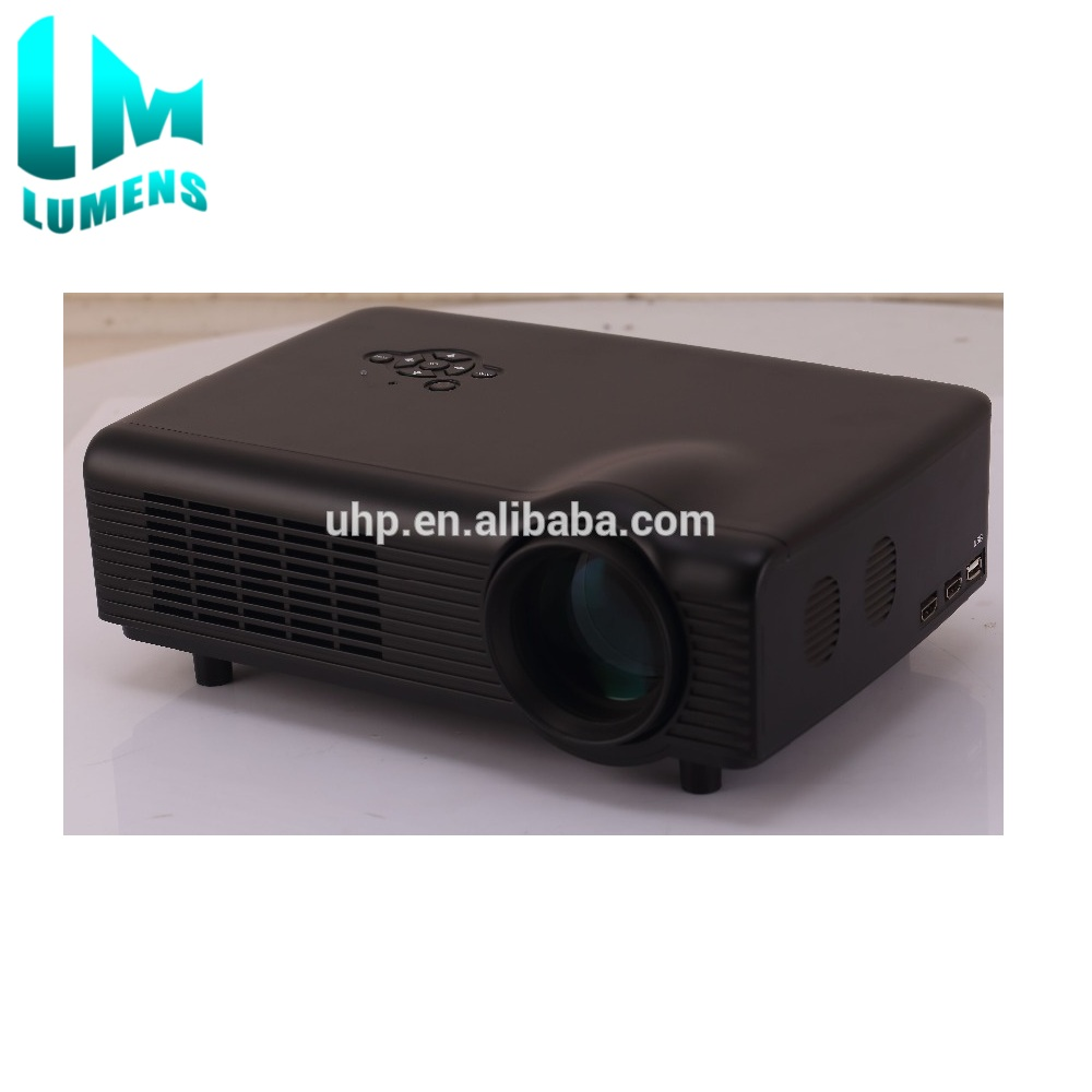 HOME-AC888 LED 50000hours life home 3D LED Projector HDMI LCD Game PC Digital TV1080P Proyector 3D Beamer 1800Lumens
