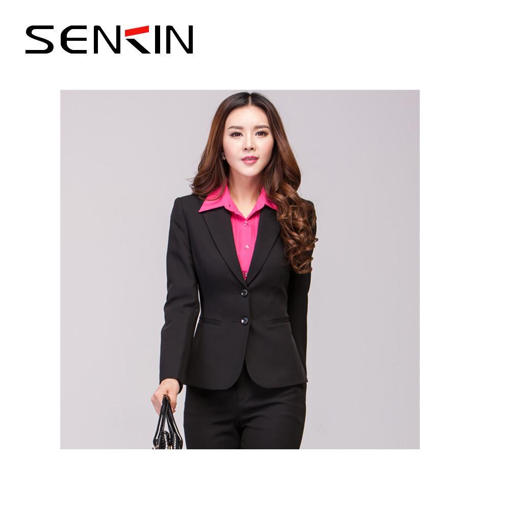 arriving genuine quality design Latest Office Uniform Ladies Business Suit Women Blazer Trouser Design Suit  - Buy Ladies Formal Suits,Ladies Uniform Suits,Women Sexy Business Suits ...