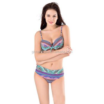2c4f3bde7baf Bikinis Sexy Mujeres 2017 Push-up Traje De Baño Traje Acolchado Tamaño Plus  Traje De Mujer Traje De Baño Ropa De Playa Biquini - Buy Conjunto De ...