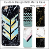 Marble custom design soft tpu IMD mobile phone case for Apple iPhone 7 7s 8 cover