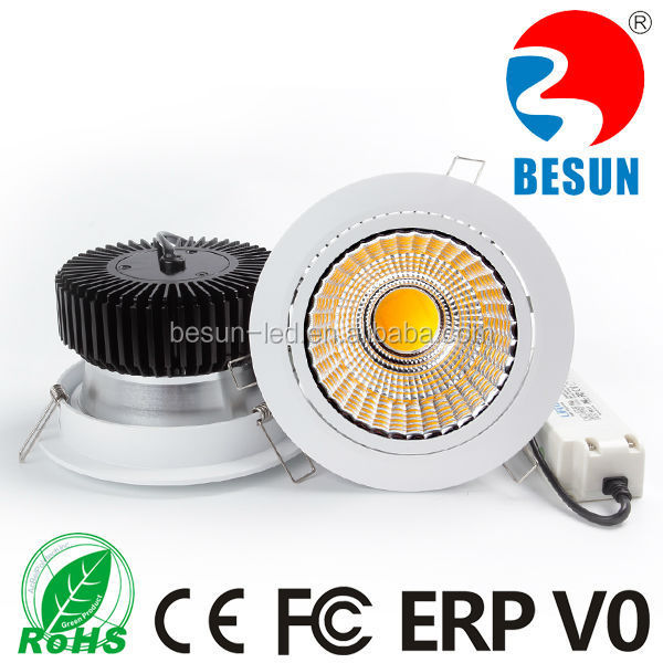 2016 hot new product super bright type Epistar cob 30w led Downlight with Meanwell/Lifud driver professinal manufacturer China