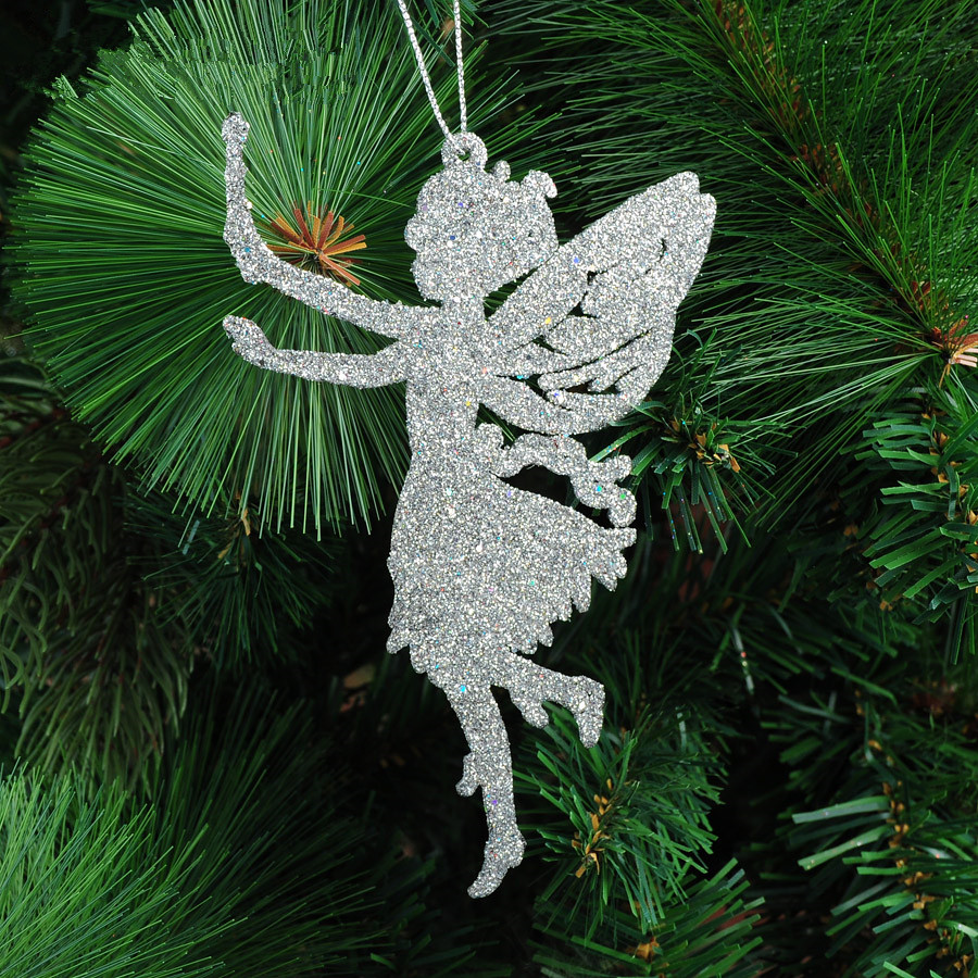 Christmas Tree Angel Decorations: Christmas Decorating Supplies 14 X9cm Five Colors Angel