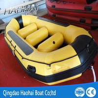 3.8m sport inflatable boat pontoon rafting boat