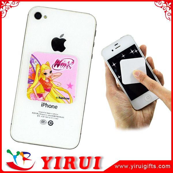 oem reusable cell phone screen wipe sticker
