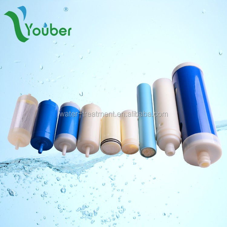 domestic water filtration 20inch long PAN UF membrane filter element, portable home UF filter