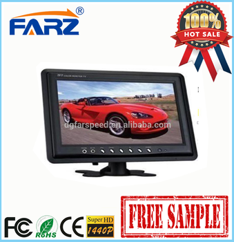 9 inch car rearview monitor