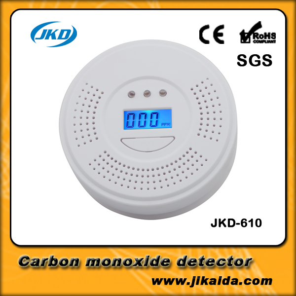 Home Security System Cordless Wireless Detector Domestic carbon monoxide alarm CO alarm Honeycomb Coal smoke detector