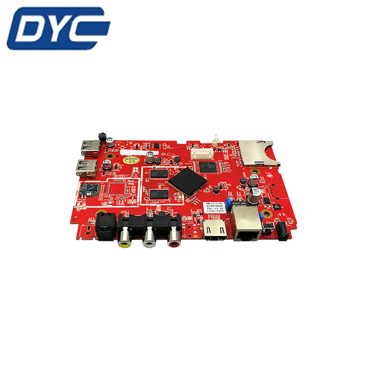 Shenzhen pcb manufacture tv pcb circuit board 94v0 circuit board PCBA assembly