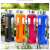 BPA Free Sport Glass Water Bottle With Silicone Sleeve