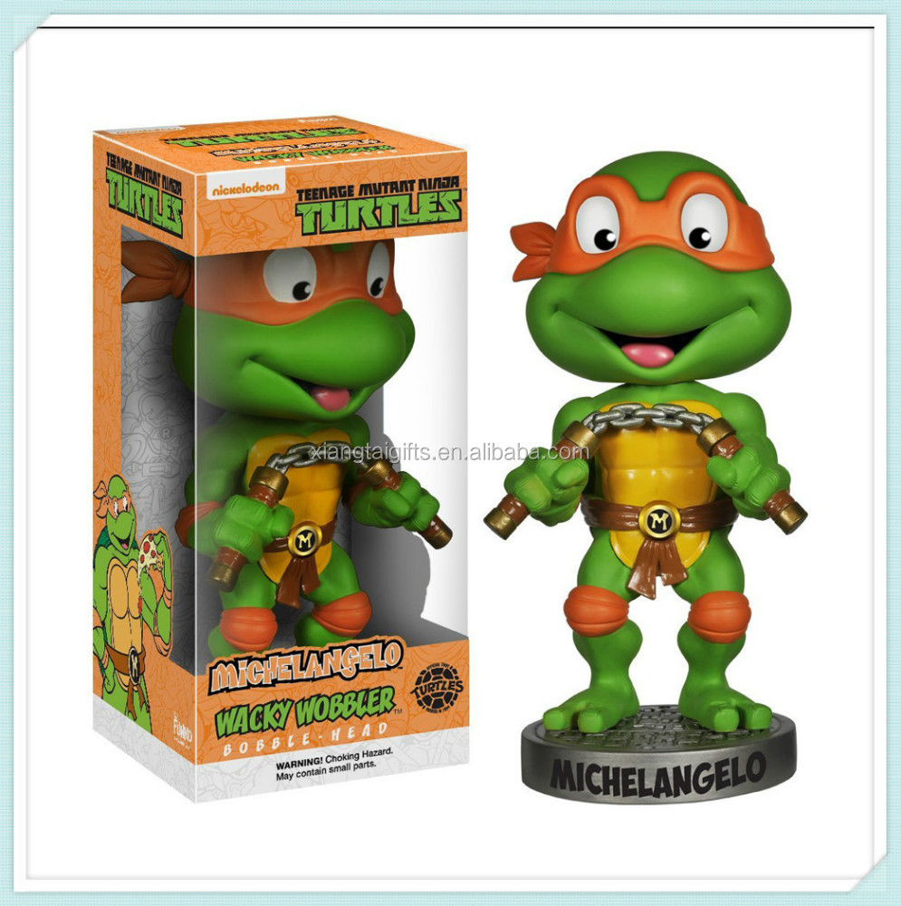 Ninja Turtles Bobble Head Wacky Wobbler Figurine craft