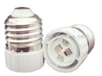 Flame retardant PBT E27 to MR16 /GU5.3 lampholder adapter