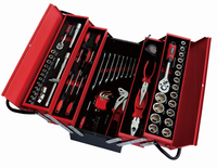 Hand Tool Manufacturer 86pcs tool Wrench Set 6pt socket set carbon steel /CR-V With Blow or Metal Case tool kit