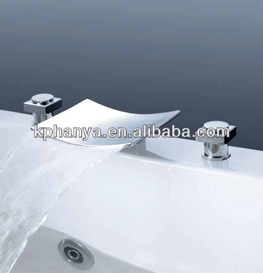 3 Hole Waterfall Faucets, 3 Hole Waterfall Faucets Suppliers and ...