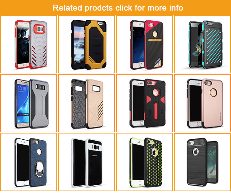 BRG newest fashional protective case for iPhone7 with blet clip holster black color
