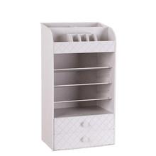 Новая пластиковая коробка для хранения ювелирных изделий, органайзер для маленьких ящиков, многофункциональная настольная коробка, чехол ...(Китай)