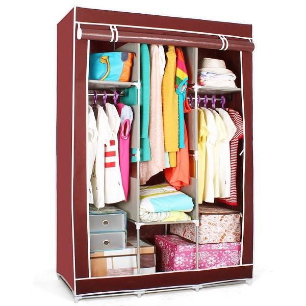 S7 alta calidad y barato portátil dormitorio armario armarios ...