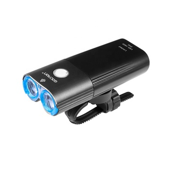 Gaciron 2019 Newest 1800Lumen Powerful Off-Road Bicycle Led Light Power Bank USB Rechargeable Front Led Bike Light
