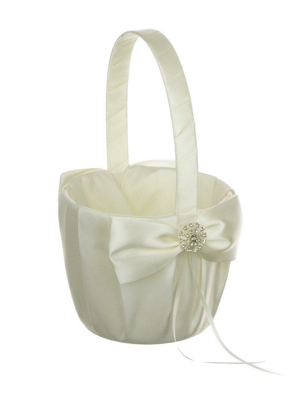 Cheap ivory snow girl find ivory snow girl deals on line at alibaba get quotations crystal jewel ribbon wedding flower girl basket ivory izmirmasajfo