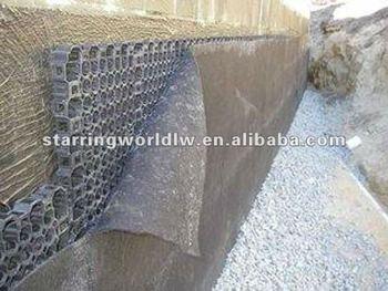 Propylene Plastic Drain Cell For Retaining Wall