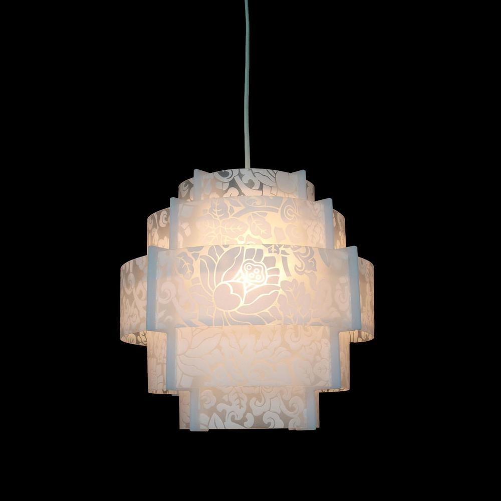 Living Room Lamp Sizes: Modern Lantern Acrylic Pendant Lamp Dining/Living Room