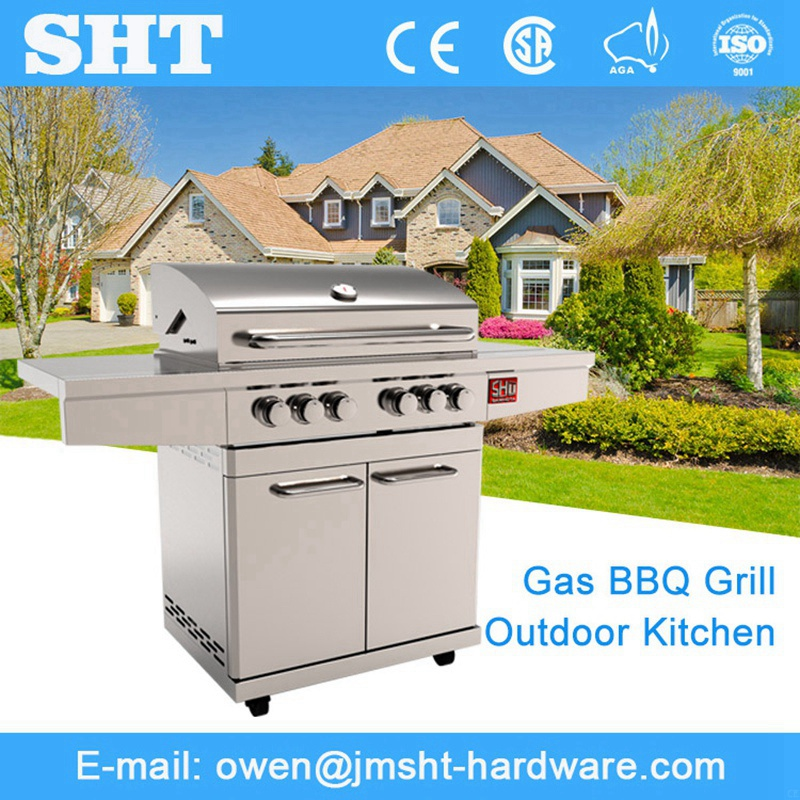 High Quality Products Full Stainless Steel Indoor Gas Barbeque Grill