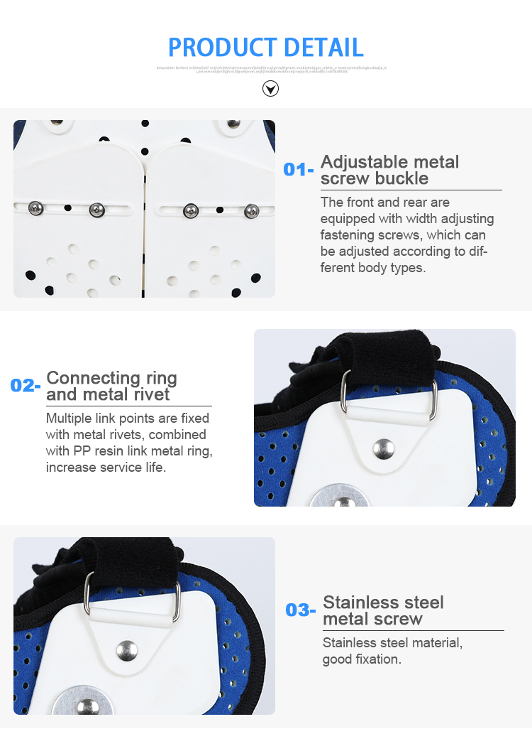 Health breathable hest thoracic back spinal brace