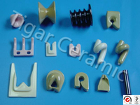 High quality customized ceramic guides for textile machinery with effective cost and long working life