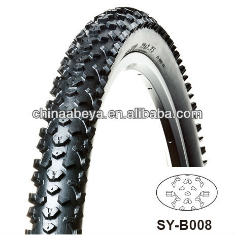 colored Mountain bicycle tire