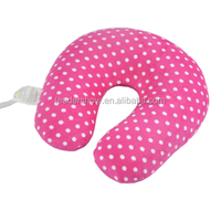 factory discount custom colorful u shape neck pillow for airplane travel