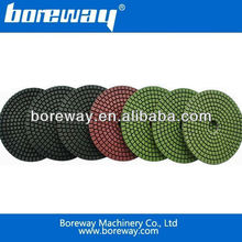 High Quality Diamond Polishing Pads for stone processing