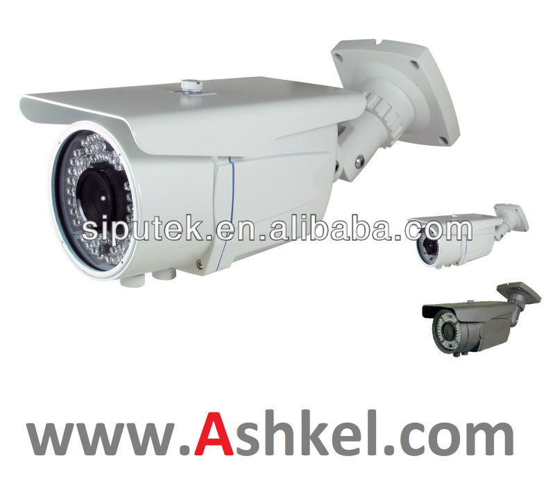Weatherproof CCTV Camera with 60m IR Range and 420 TVL