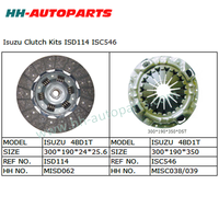 ISD114 ISC546 Tractor Clutch Cover Assembly for Isuzu Truck Valeo Clutch Kit