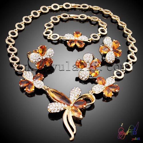 planchas de oro africano conjunto de joyas al por mayor dubai bisutería