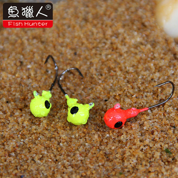 tungsten jig/lead jig head fishing lure,wholesale jig heads